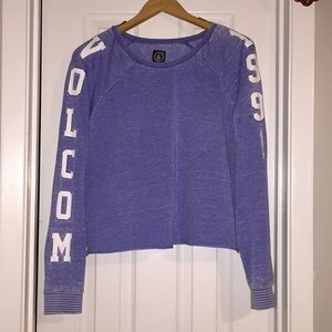 Faded cropped Volcom
